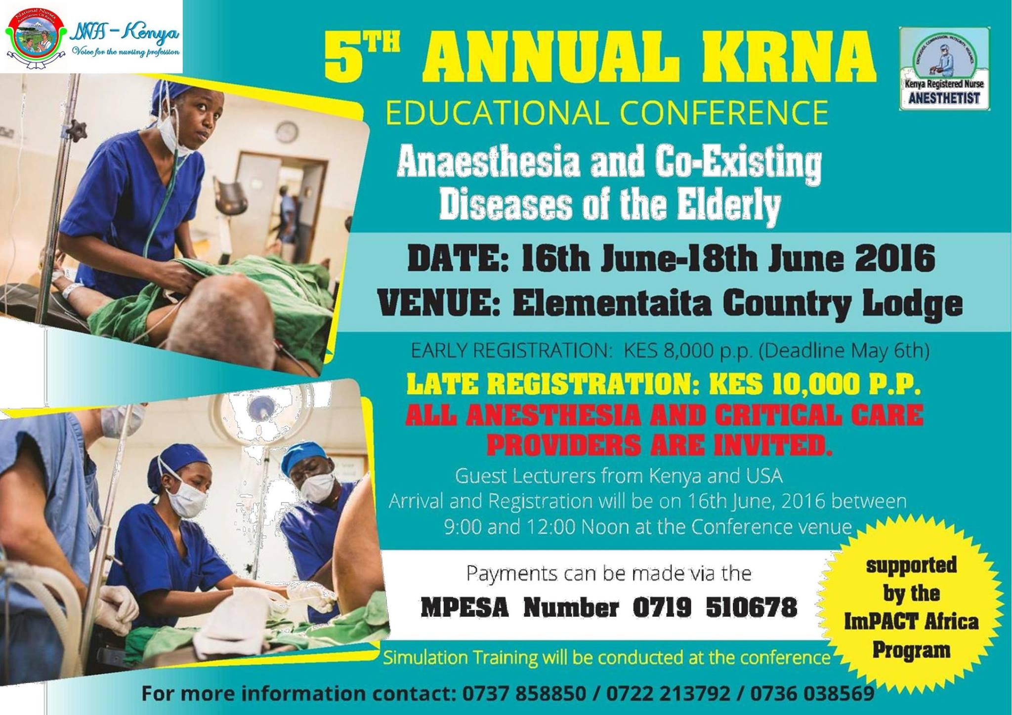 5th Annual KRNA