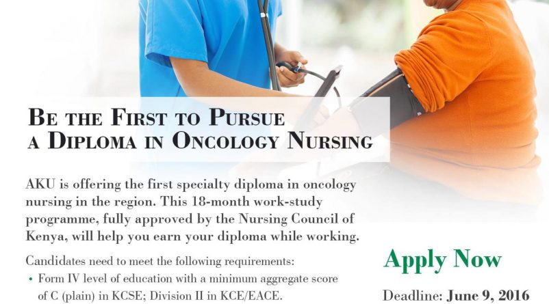 Oncology Diploma Program